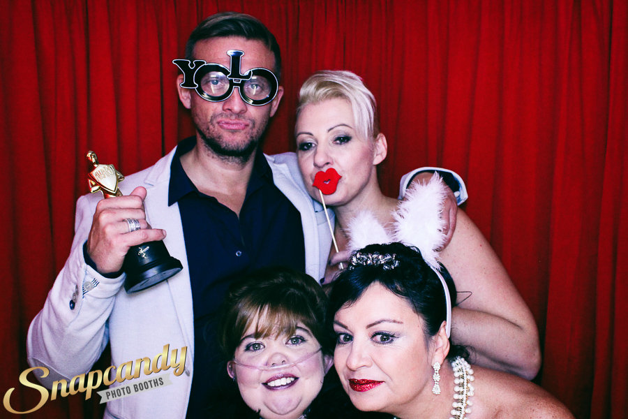 kirsty club hollywood event photo booth cheshire
