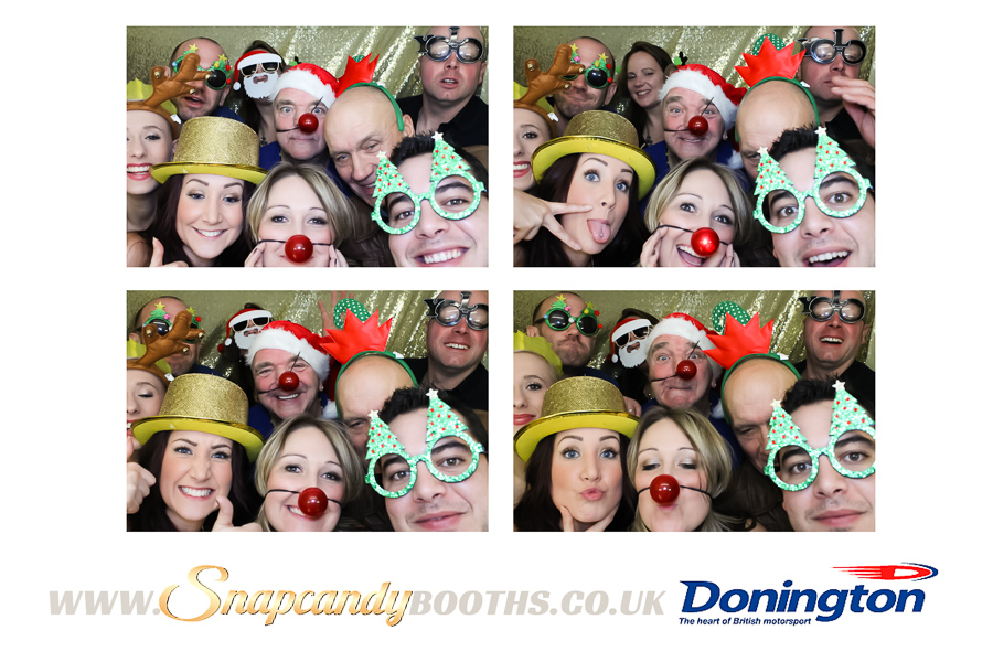 Derbyshire Christmas Party Photo Booth