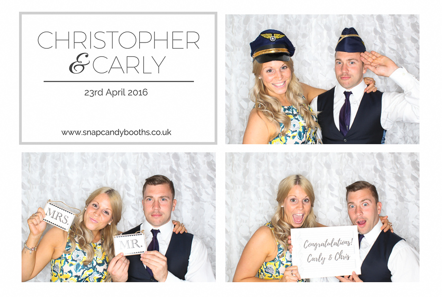 stylish photo booth