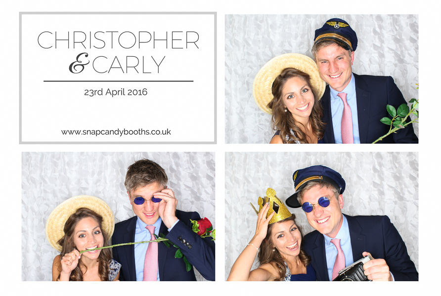 stylish photo booth fun