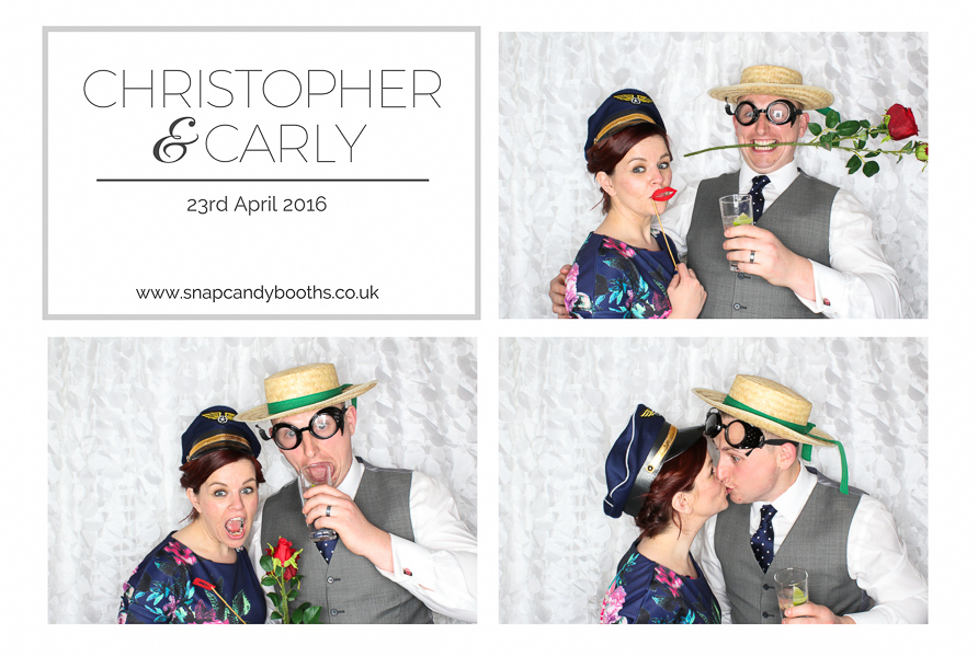 quirky photo booth